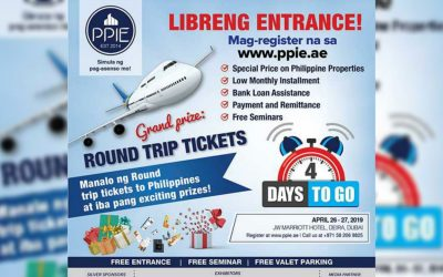 Win free round trip tickets at PPIE 2019