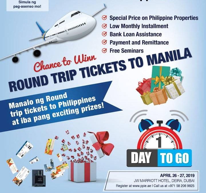 Here's how to score free round trip tickets from UAE to Philippines