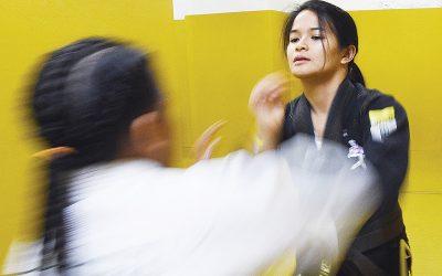 Pinay Jiu-jitsu champ teaches abuse victims self-defense