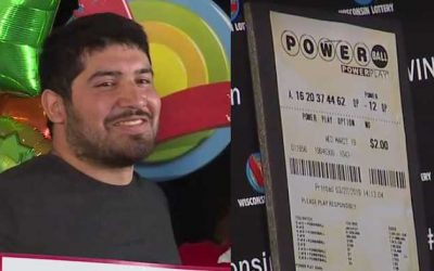 24-year old man wins US$768 million Powerball prize