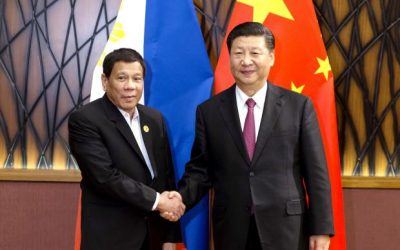 Duterte back from Belt and Road forum in China