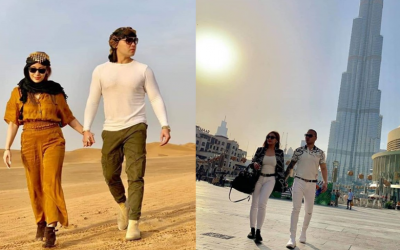 LOOK: Polo Ravales, fiancée Paulyn Quiza in awe while exploring Dubai