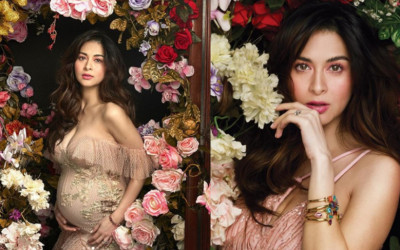 IN PHOTOS: Marian Rivera shows off baby bump in magazine cover