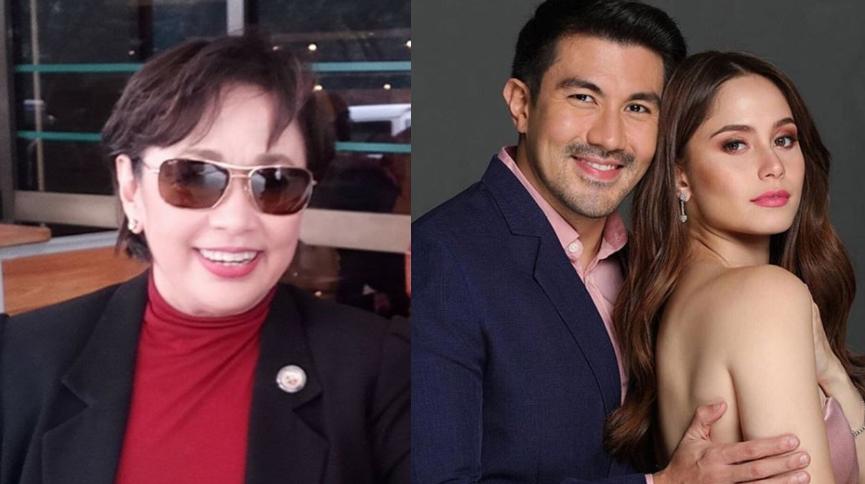 Luis Manzano narrates how Vilma Santos saved Jessy Mendiola from burning set