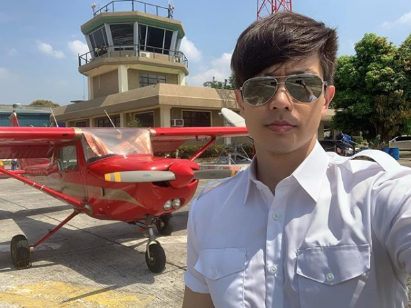 Ronnie Liang fulfills dream of becoming a pilot