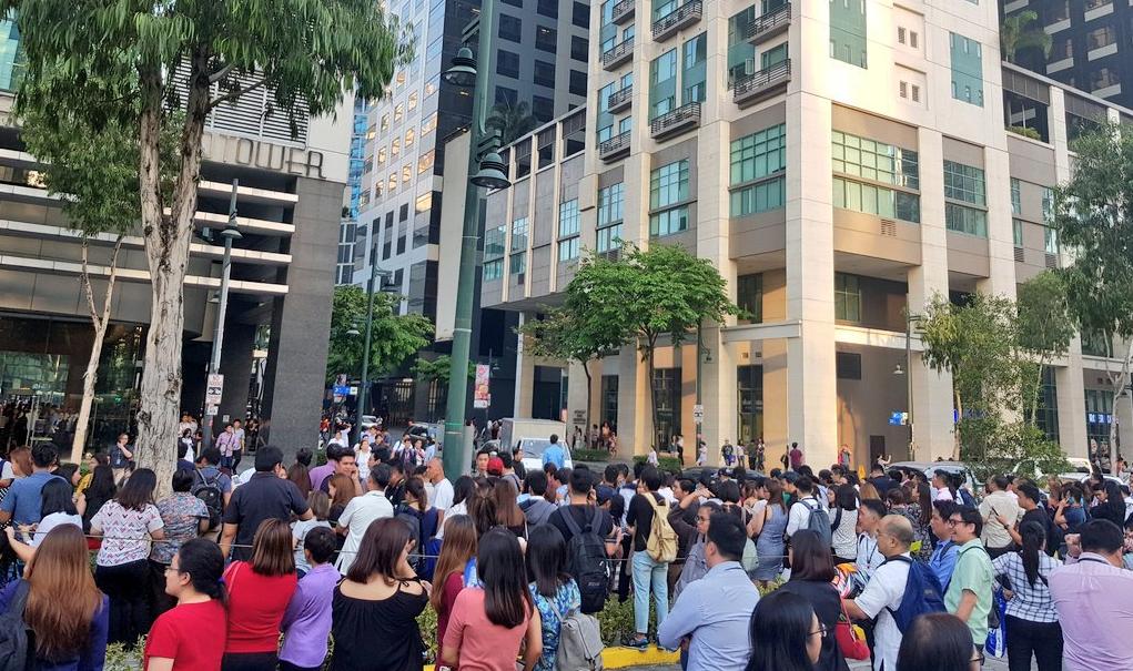 BREAKING: 5.7 earthquake rattles Metro Manila