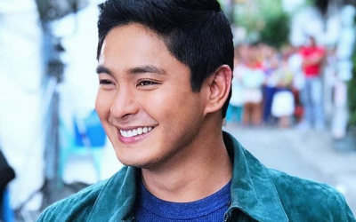 Is this Coco Martin's response to baby rumors with Julia Montes?