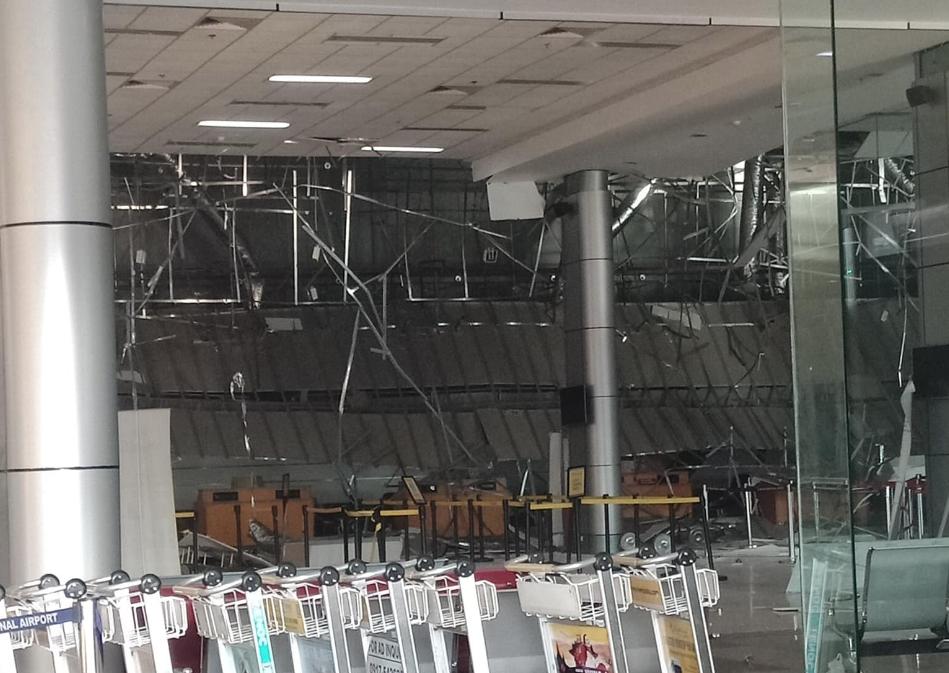 Clark International Airport damaged after Luzon quake