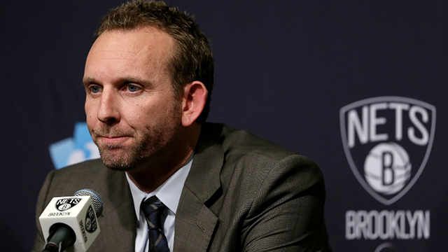 Brooklyn Nets general manager suspended