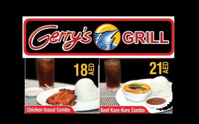Enjoy new Sulit Meals with unlimited rice at Gerry's Grill!