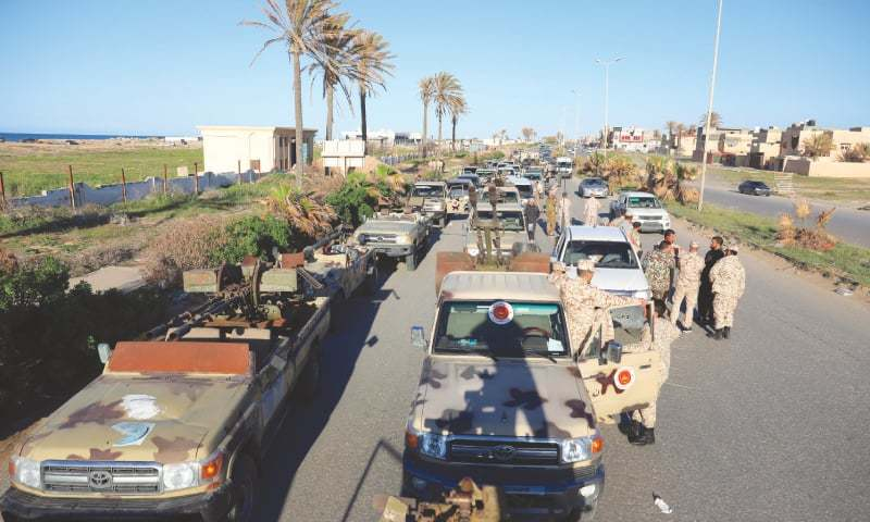 1 wounded as Filipinos start evacuating from Tripoli in Libya