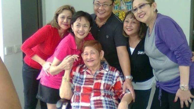 Mother of Vilma Santos passes away