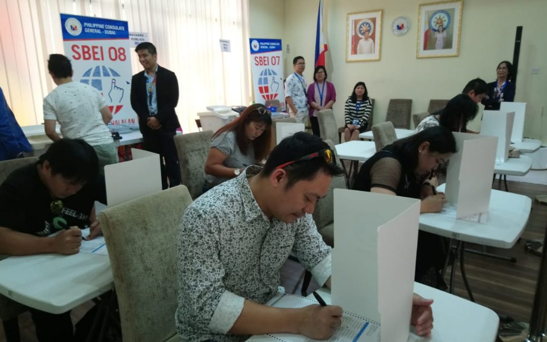 Overseas absentee voting for Filipinos begins