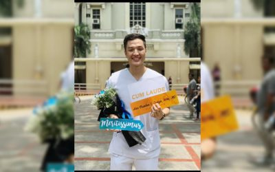 Former Pinoy Big Brother housemate fulfills childhood dream of being a doctor