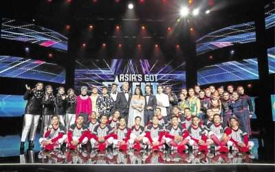 """WATCH: Three Pinoy acts vie for """"Asia's Got Talent"""" grand prize"""