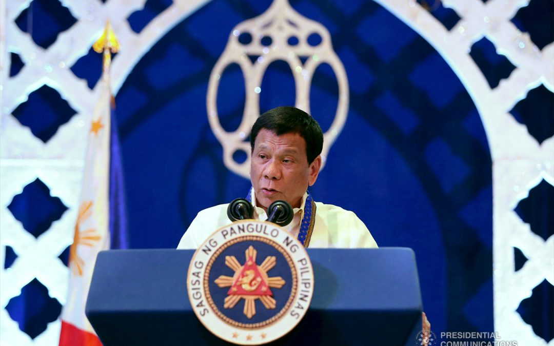 Seek new contractor for machines for automated polls — Duterte