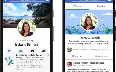 Facebook to prevent users from seeing notifications about deceased friends