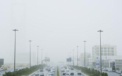 Sandstorms hit Riyadh