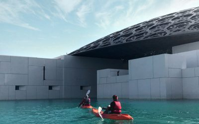Explore Louvre Abu Dhabi's waters in style with Kayaking