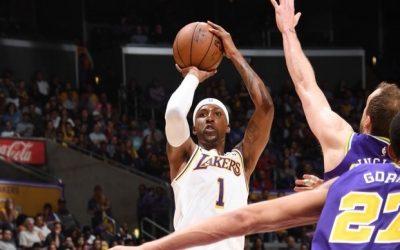 Lakers cuts Jazz' 7-game streak, 113-109