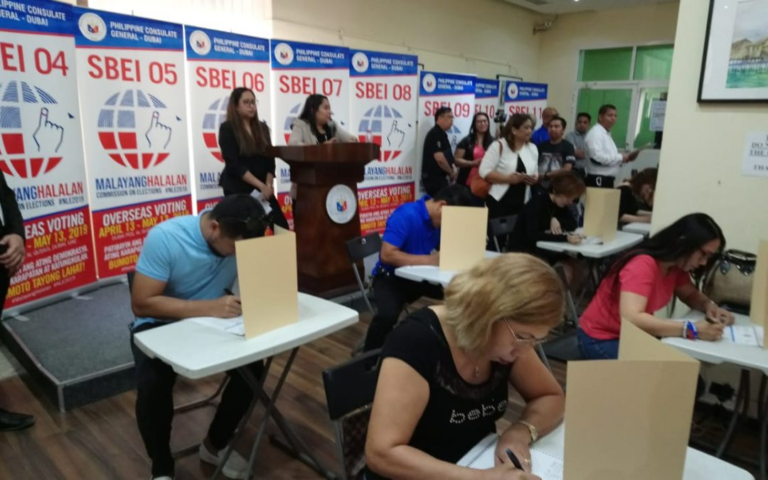 'Go out and vote' — PH officials urge OFWs