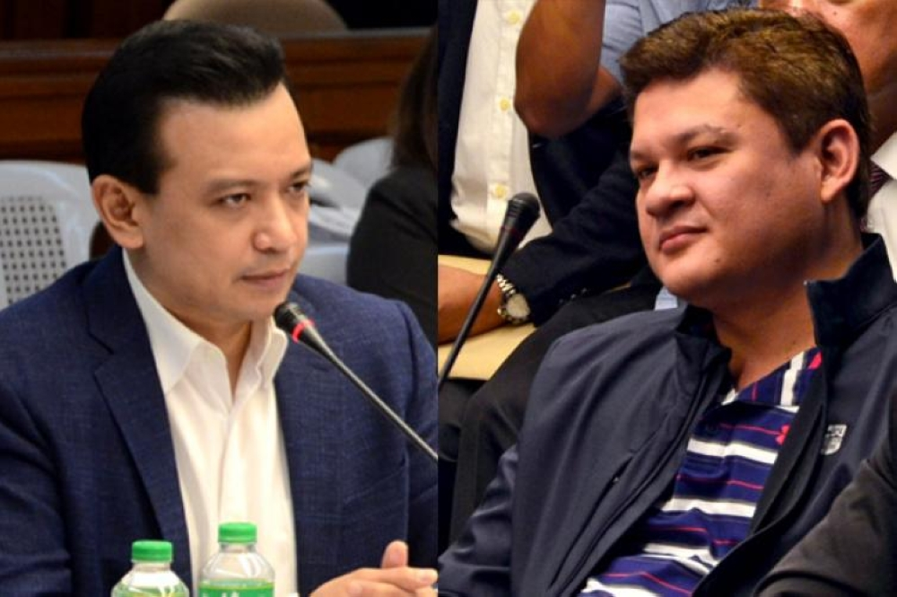 Paolo Duterte accuses Trillanes as mastermind behind video exposé linking him to illegal drug trade