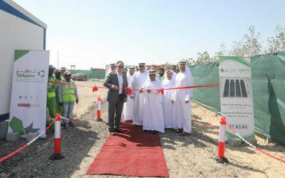 Tadweer opens region's first battery solar system at Al Dhafra Landfill