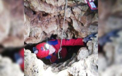 LOOK: Thea Tolentino inside Lobo Cave during Eastern Samar quake