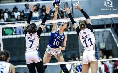 Ateneo's Kat Tolentino takes home 2nd UAAP Player of the Week title