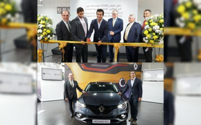 Al Masaood Automobiles launches Renault concept store and Renault MEGANE R.S. in Abu Dhabi