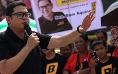 Bam Aquino makes it to the cut; Bong Revilla trails in partial, official results