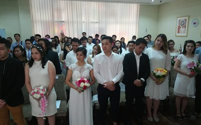 'A happy wife is a happy life.' – 26 newly wed OFWs told