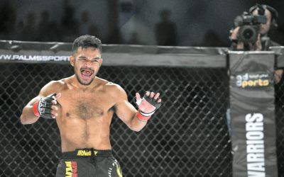 Filipino MMA fighter scores featherweight title at UAE Warriors 6