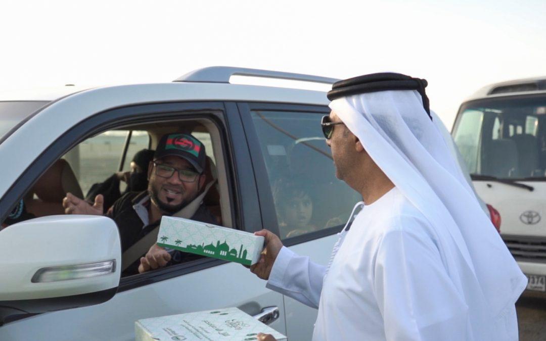 Dubai Police distribute 30,000 Iftar meals to motorists