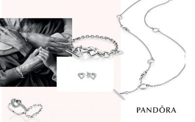 Intertwine your emotions of affection with PANDORA's Joined by Love collection