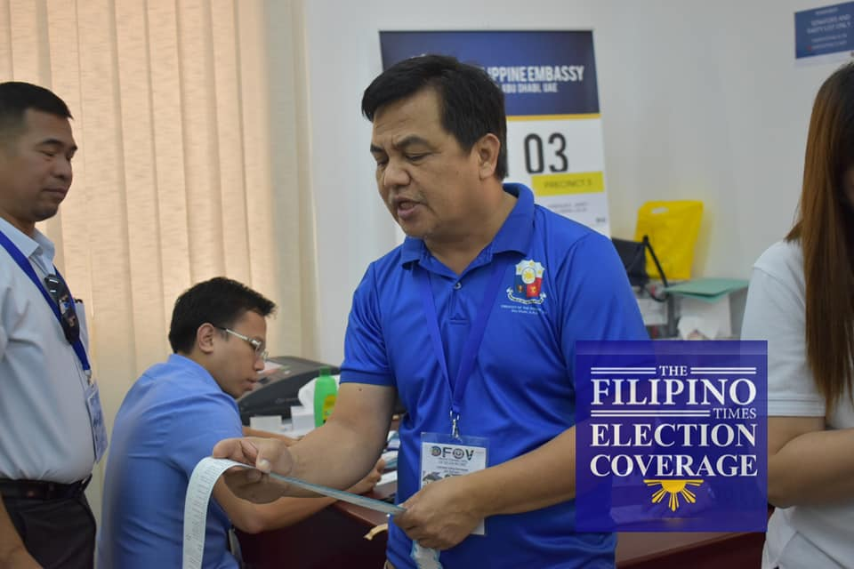 Elections 2019: Abu Dhabi vote hails Dela Rosa, Go, Ong for senator; ACT-CIS, AA-Kasosyo, OFW Family lead party list
