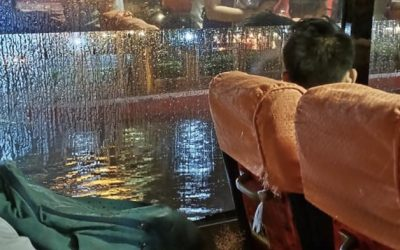Metro Manila traffic snarled after 3-hour downpour
