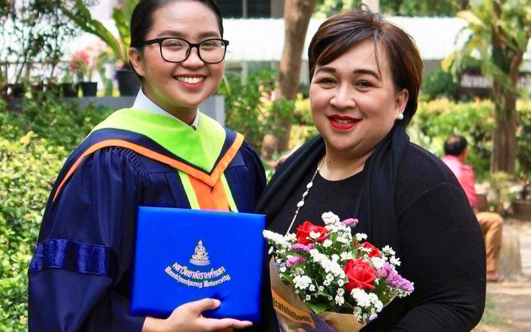 Pinay graduates summa cum laude in Thailand