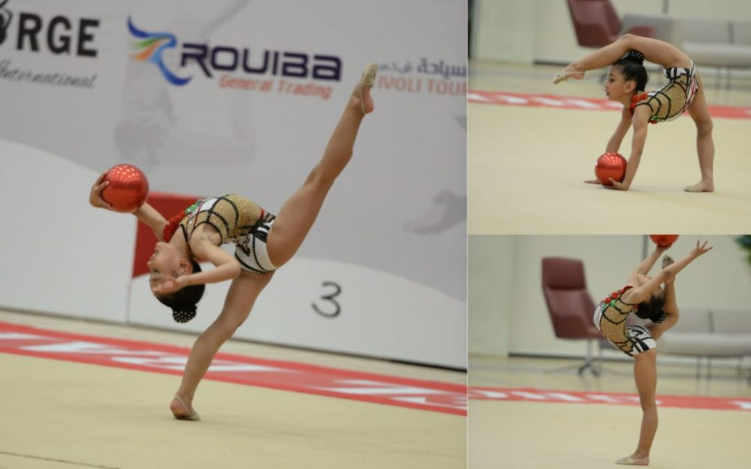 Young Filipina gymnast wins gold at 3rd International Emirates Cup