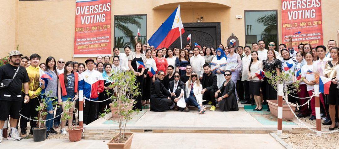 Filipino community stars in the PID MV Launch