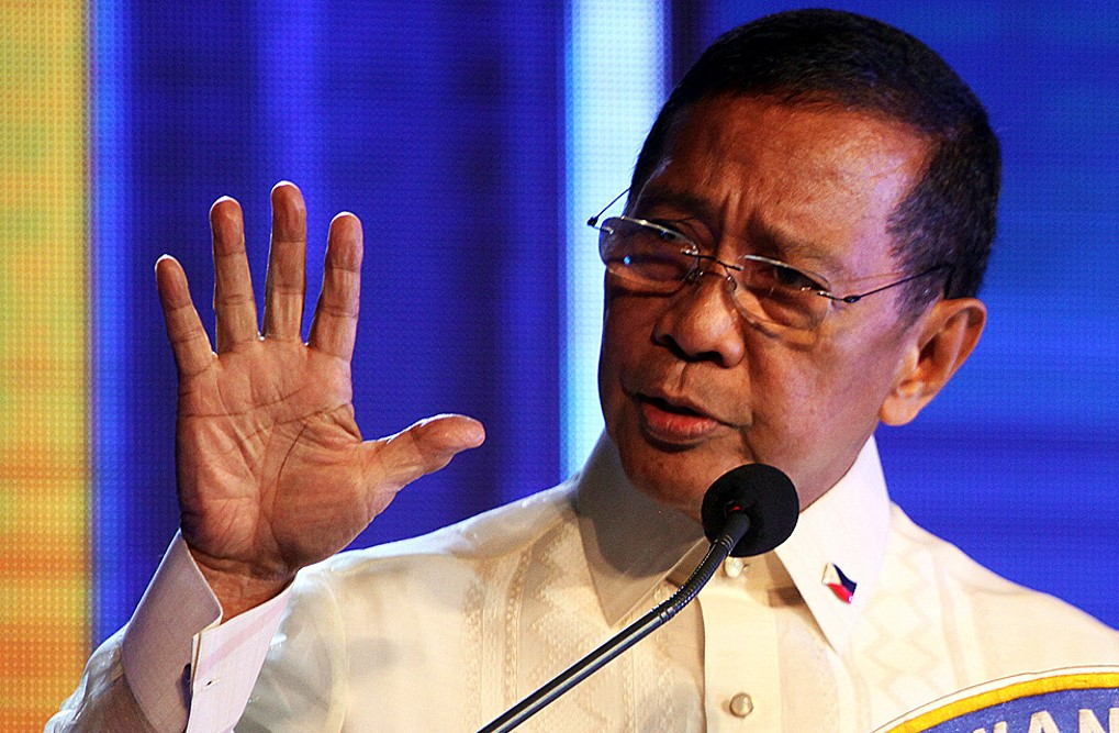 Jojo Binay cites close congressional fight in motion to delay proclamation