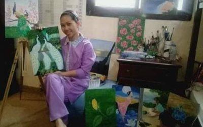 LOOK: Kuwait-based Pinay kasambahay creates alluring art