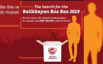 LBC on the search for LBC Balikbayan Box Bae 2019