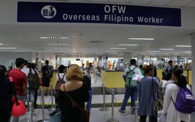 Group wants OFW dept. to be led by reintegrated OFWs
