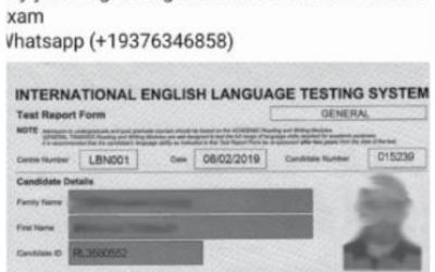 Authorities warn Bahrain residents of fake IELTS certificate
