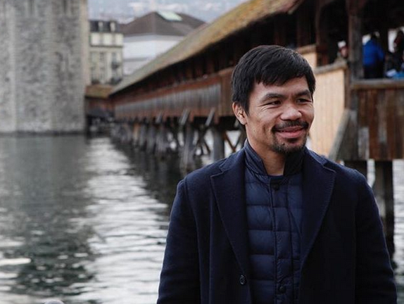 Manny Pacquiao's old employee ID shows how far he's come in life