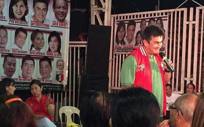 Gary Estrada falls behind in Cainta vice mayoralty race