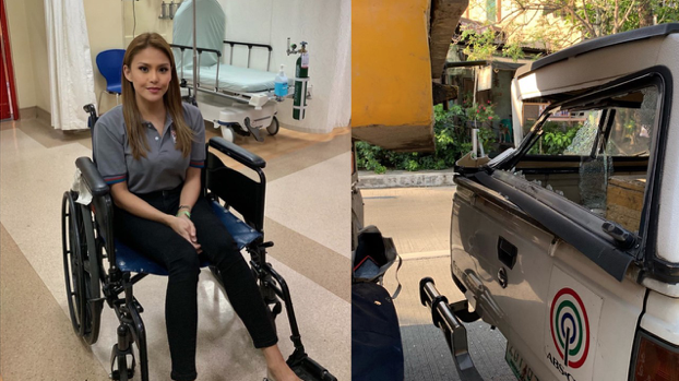 Gretchen Fullido, ABS-CBN crew involved in traffic accident