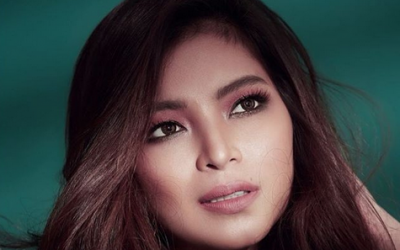 After hospitalization, black eye; Angel Locsin gets bitten by dog on face