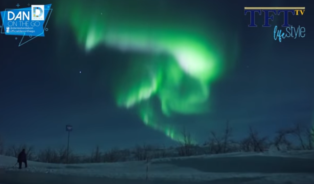 Capturing the Northern Lights at Tromso in Norway